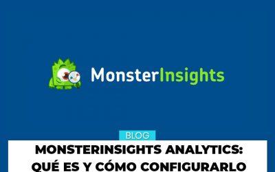 Monster Insights Analytics para WordPress