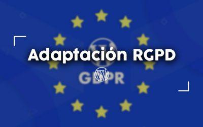 Adaptación RGPD Plugin WordPress