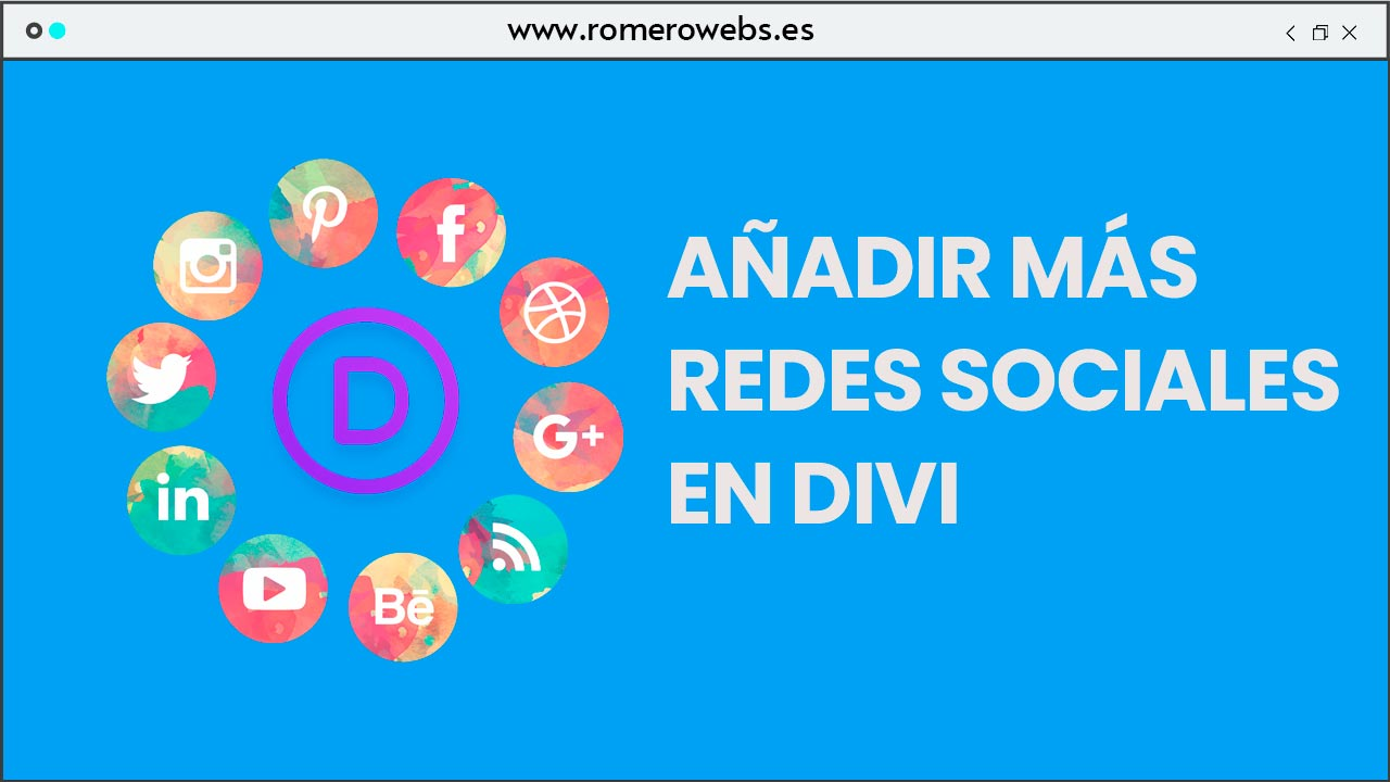Añadir botones de Redes sociales en Divi