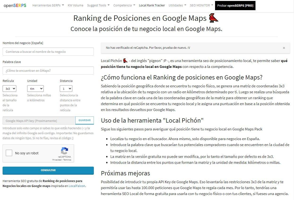local pichon geogrid gratuito en espanol