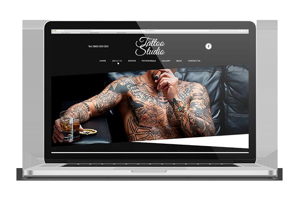 paginas web para estudios de tatuajes