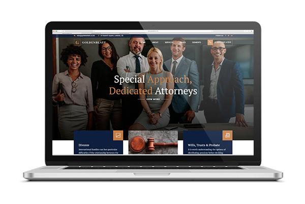diseno web para abogados