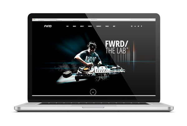 diseno web para musicos